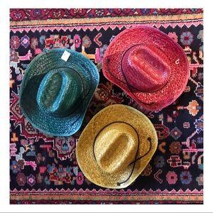 3 Colorful Cowboy Hats🌈
